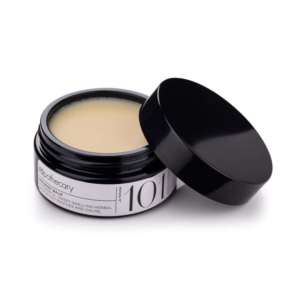 sos body balm container open
