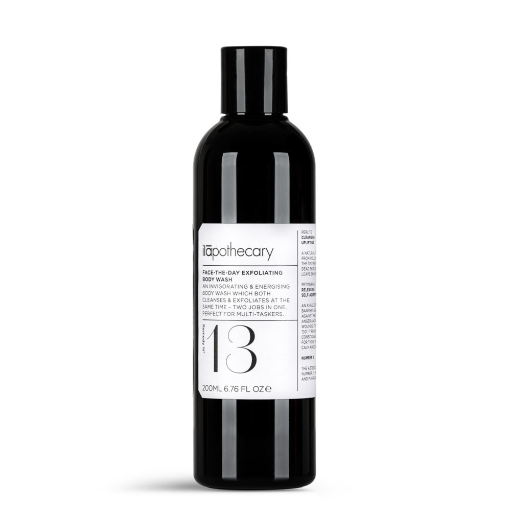 Face-The-Day Exfoliating Body Wash