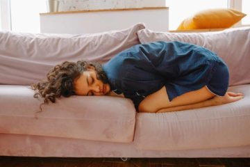 woman needs natural remedies for pms